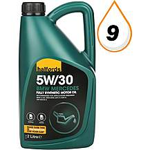 image of Halfords 5W30 Fully Synthetic BMW/MB Oil 2L