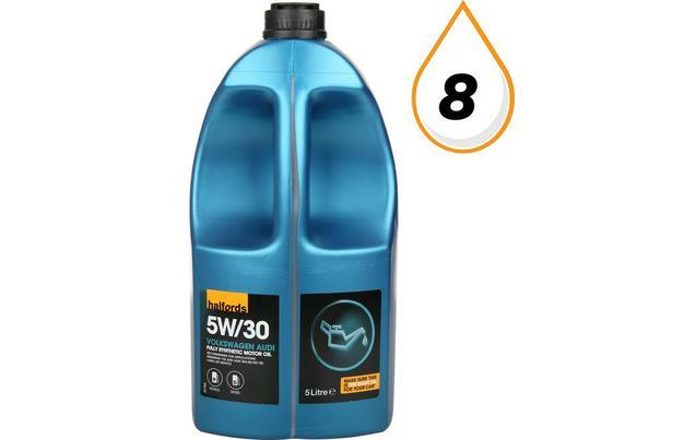 Halfords 5w30 Fully Synthetic Vwau