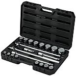 Halfords Advanced Professional 21 Piece Socket Set 3/4""