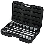 image of Halfords Advanced Professional 21 Piece Socket Set 3/4""