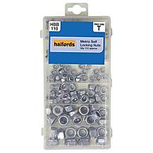 image of Halfords Metric Self Locking Nuts
