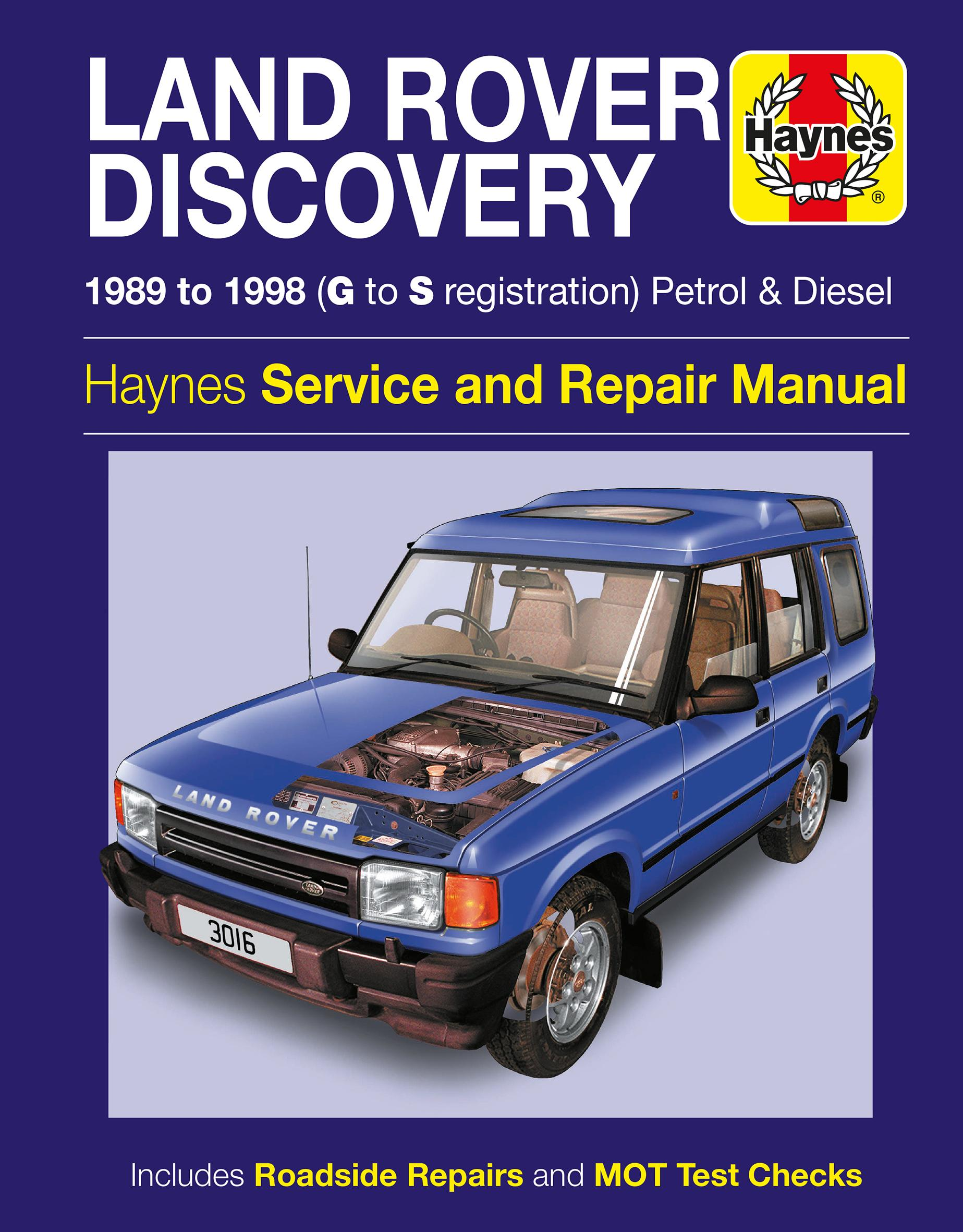Land rover discovery full service repair manual workshop array haynes land rover discovery 89 9 rh halfords com fandeluxe Gallery