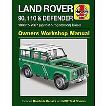 image of Haynes Land Rover 90, 110 & Defender (83 - 07) Manual