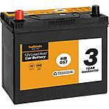 Halfords HB057 Lead Acid 12V Car Battery 3 Year Guarantee