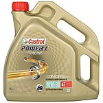 image of Castrol Power 1 Racing 4T 10W/30 Motorcycle Engine Oil - 4ltr