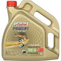 image of Castrol Power 1 Racing 4T 10W/40 Motorcycle Engine Oil - 4ltr