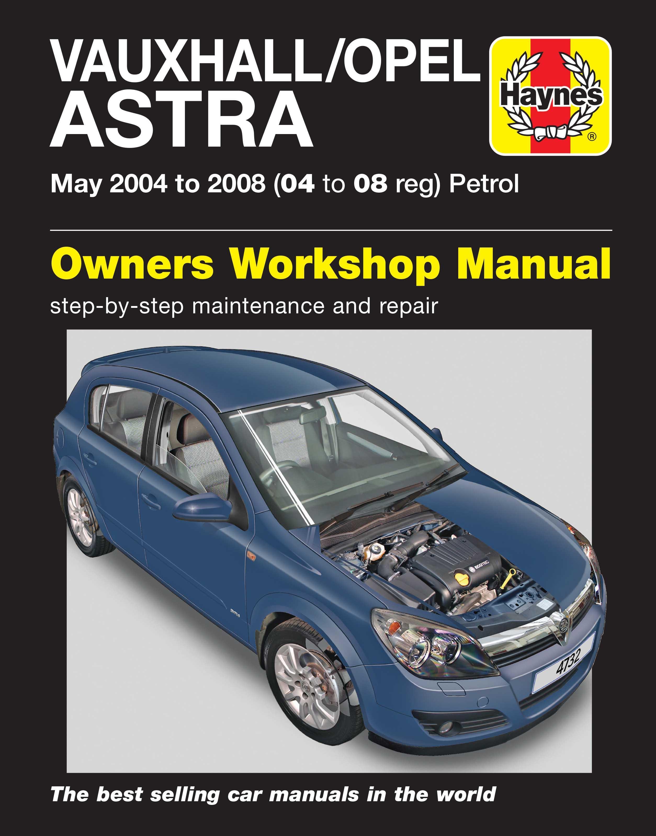 haynes vauxhall astra may 04 08 rh halfords com Opel Astra 2008 opel astra h gtc 2005 manual
