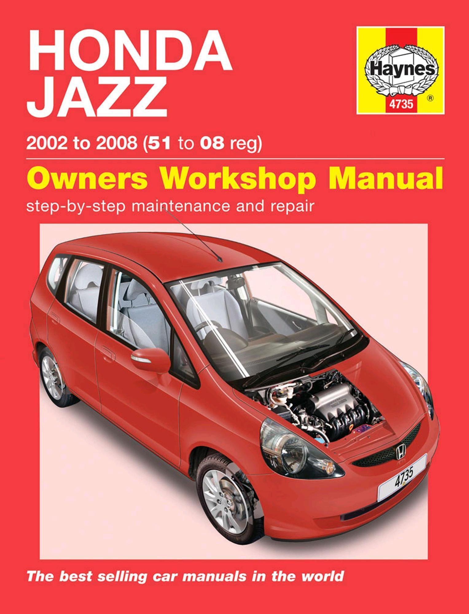 haynes honda jazz 02 08 manual rh halfords com 2008 Honda Fit 2007 Honda Fit