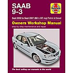 image of Haynes Saab 9-3 (Sept 02 - Sept 07) Manual