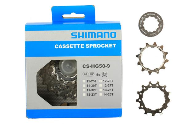 40615148ccb Shimano HG50 9 Speed Cassette 12-25...