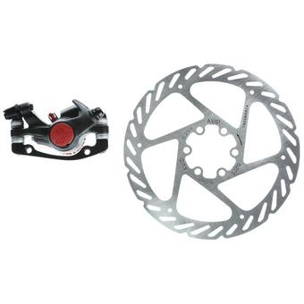 988857: Avid BB5 MTB 160mm G2CS Rotor Front or Rear-Includes IS Brackets and Rotor Bolts Black