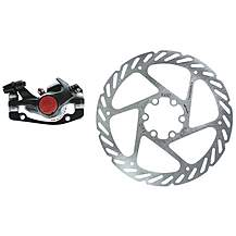 image of Avid BB5 MTB 160mm G2CS Rotor Front or Rear-Includes IS Brackets and Rotor Bolts Black