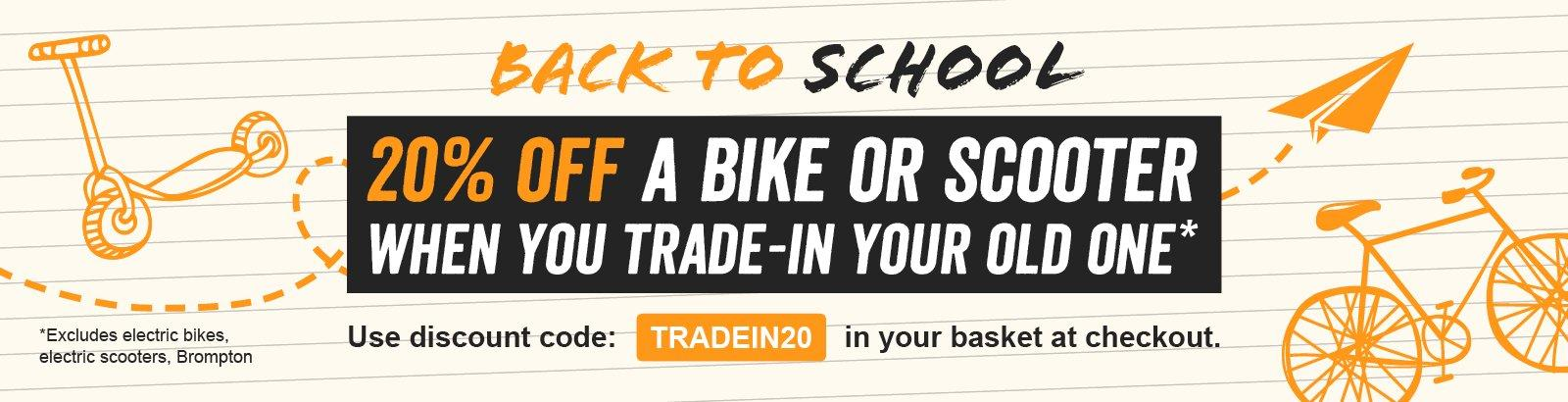 Halfords Advice Centre | Trade In