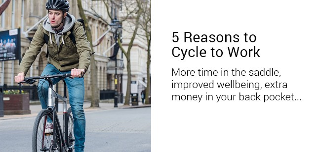 5 Reasons to Cycle to Work Blog