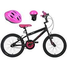 image of Apollo Boogie Bike, Electric Bell & Purple Helmet bundle