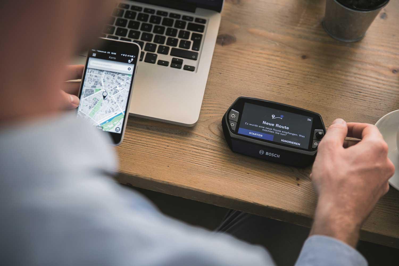 Bosch e-bike displays