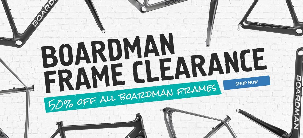 Boardman Frame Clearabce