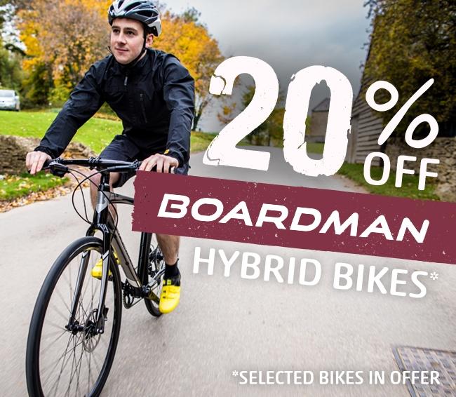 View Boardman Hybrid Bikes