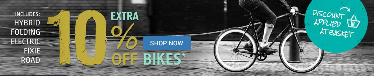 Extra 10% Off Commuter Bikes