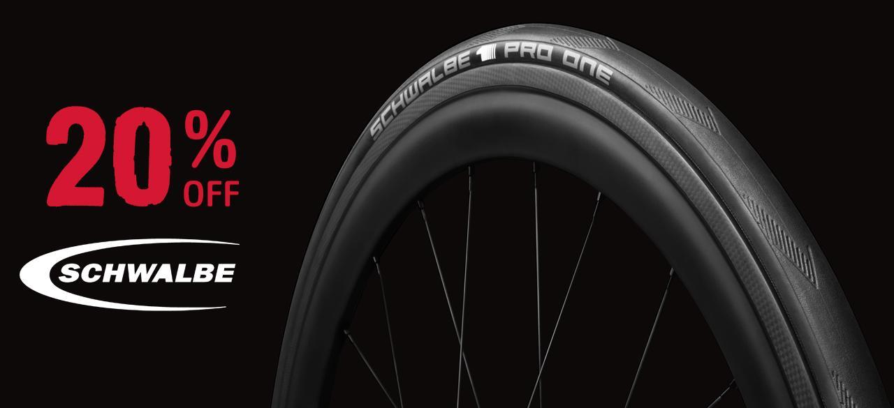 20% Off Schwalbe Tyres