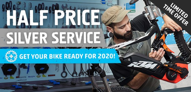 Bike Servicing Half Price