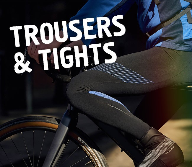 Cycling Trousers and Tops