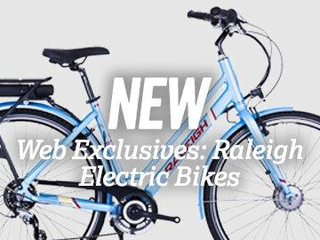 NEW - Web Exclusive: Raleigh Electric Bikes