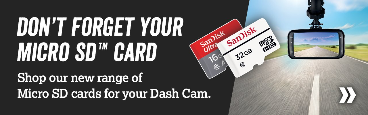 New to Halfords, Micro SD cards