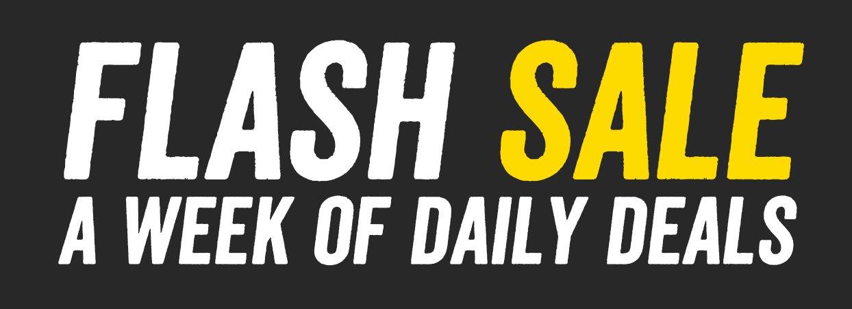 Flash Sale Header