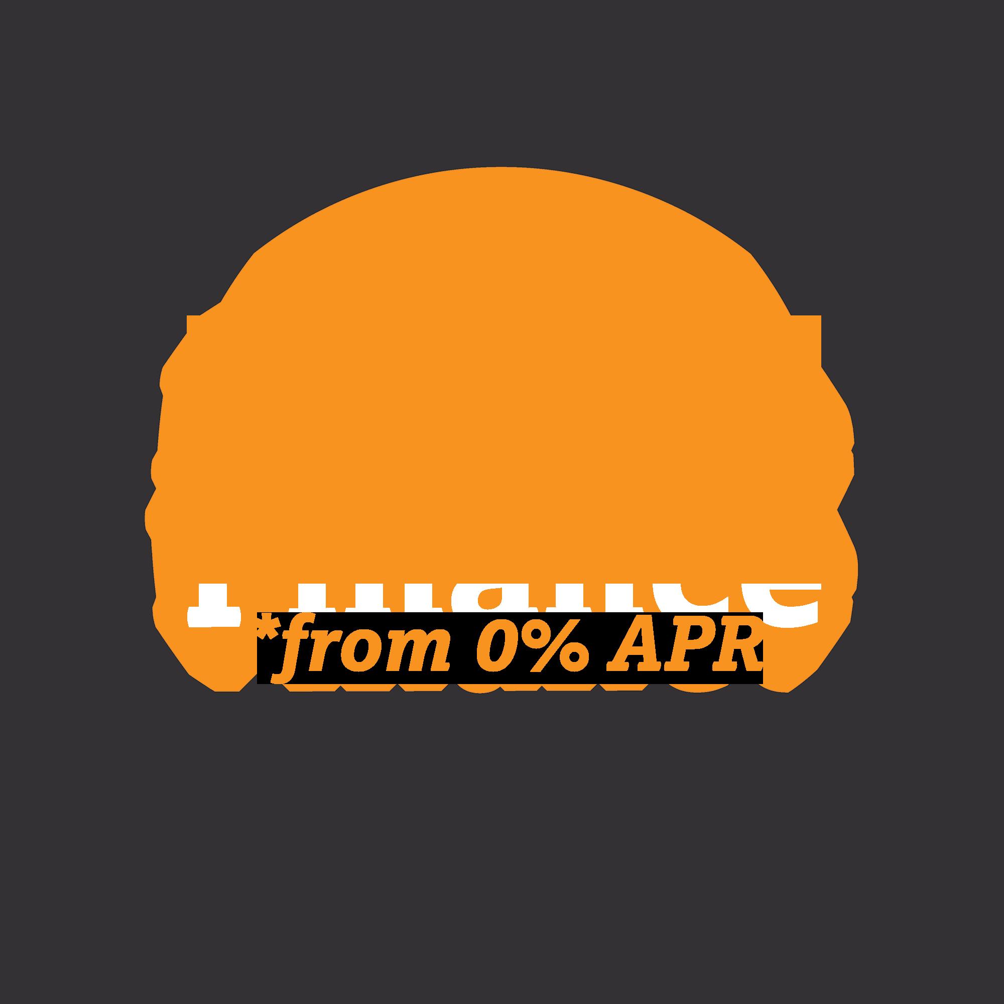 Flexible Finance available
