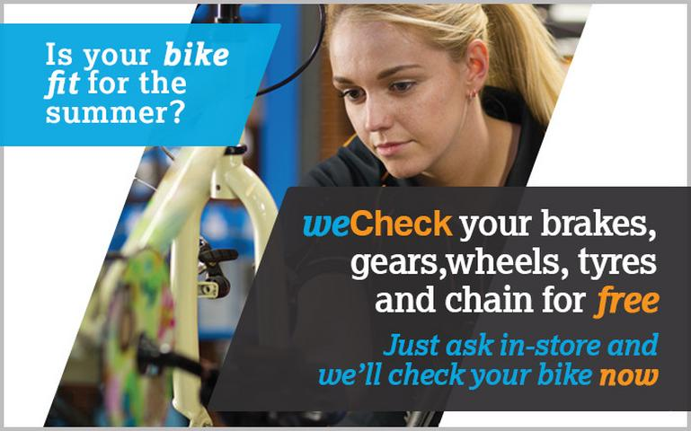 Image for Free Bike Check article
