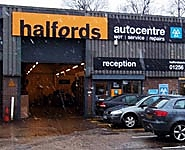 Halfords Autocentre Basingstoke