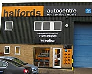 Halfords Autocentre Cambridge (Clifton Road)