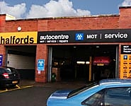 Halfords Autocentre Cheadle