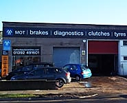 Halfords Autocentre Exeter