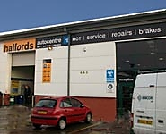 Halfords Autocentre Gateshead