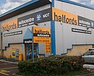 Halfords Autocentre Ipswich