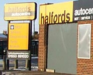 Halfords Autocentre Kings Lynn