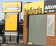 Halfords Autocentre Kings Lynn