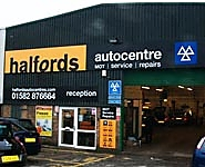 Halfords Autocentre Luton