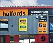 Halfords Autocentre Park Royal