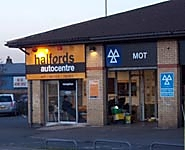 Halfords Autocentre Peterborough