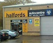 Halfords Autocentre Rugby