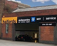 Halfords Autocentre Sheffield (Eyre St)