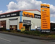 Halfords Autocentre Shrewsbury