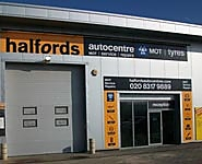 Halfords Autocentre Woolwich