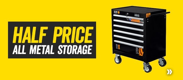Half price all metal storage