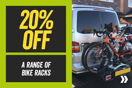 20% Off a Range of Bike Racks