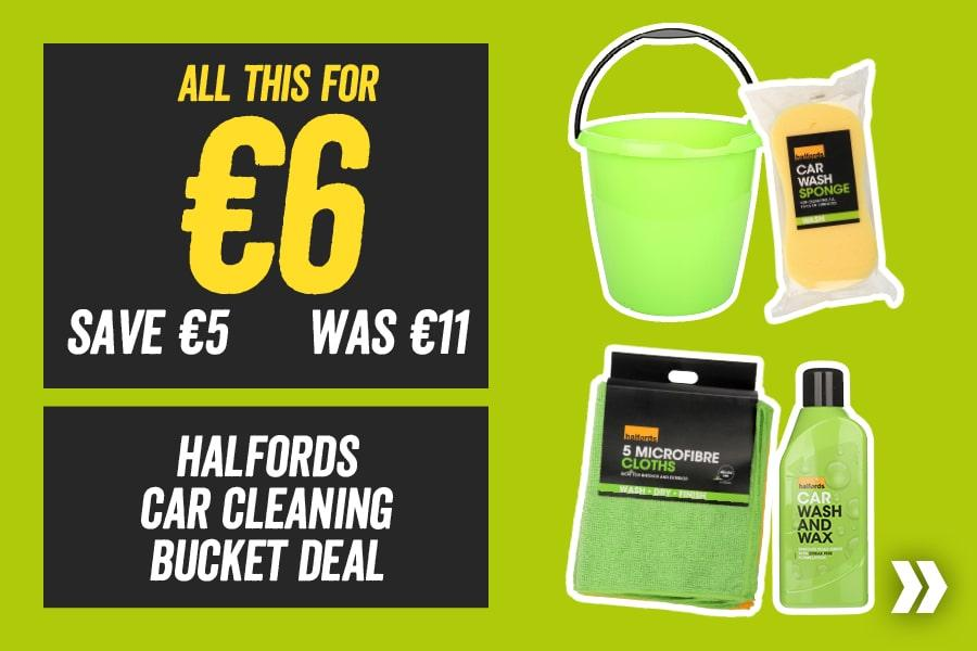 All This For €6 Halfords Car Cleaning Bucket Deal