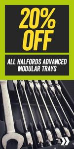20% Off All Halfords Advanced Modular Trays
